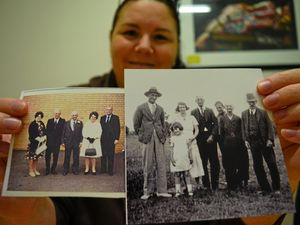 Lost photographs searching for an owner