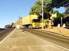 BREAKING: Truck clips gutter rail in Gladstone, diesel spill