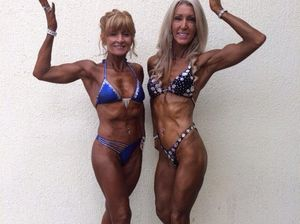 Body building power couple eat '8 meals a day'