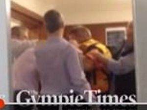 VIDEO: Mayor and CEO caught in violent land rights fracas