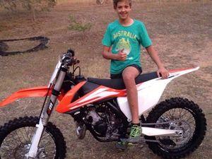 Teenager's motocross dreams ruined