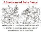 Belly dancing troupes from around the state will be on show presenting a spectacular night of entertainment not to be missed!