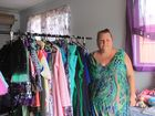 Maree Hoad is having a garage sale to help pay for her electricity bill, which she says is almost 50% higher than it was on the Gold Coast. Photo Michelle Gately / Morning Bulletin