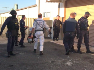 Man arrested following Toormina bikie raids