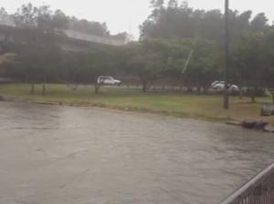 Flooding at Fingal Head