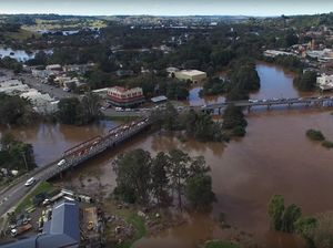 Eye in the sky: Spectacular drone footage of Lismore flood