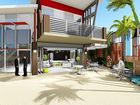 A BEACHFRONT home would be demolished to make way for new retail/commercial building - with cafes, restaurants and office space - in Lennox Head's main street.