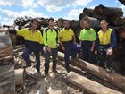 TEN staff employed at Maryborough's Nangarin Timber Mill will be made redundant after doors are shut at the end of the month.
