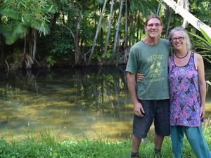 Living off the grid: How this couple lives with less
