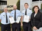 WHEN Senior Constable Daniel Kelly and his colleague Constable Michael McEwan found a man unconscious during a routine welfare check, they immediately jumped in