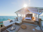Floating apartment on the Great Barrier Reef.