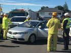 One woman was taken to Toowoomba Hospital after a two-vehicle crash at the corner of West St and Anzac Ave.