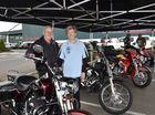 Members of the Harley Davidson Club, Jack Mangan on the bike with Fay Gregory set up at Bunnings to spread the word about the annual Cruise for Cancer, which will be held on August 28. June 11, 1026