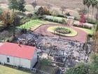 Fire destroys historic homestead
