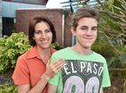 Organ donation - 14 yr old Jaydon Fuller received a liver just prior to his first birthday. Pictured with his mother Colleen.Photo: Alistair Brightman / Fraser Coast Chronicle
