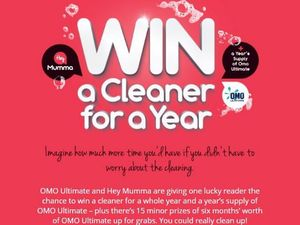 Win a cleaner for a year!