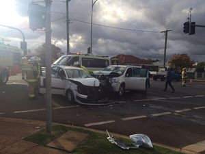 Two kids rushed to hospital after high-impact crash