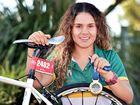 Local Hervey Bay triathlete - Brandi Alberts.Photo: Alistair Brightman / Fraser Coast Chronicle