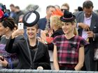 THOUSANDS of punters flooded through the gates of the Ipswich Turf Club yesterday for the biggest event on the city's social calendar.