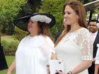 THE top secret wedding of Ginia Rinehart will take place this week at qualia resort on Hamilton Island