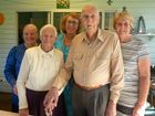 Eric and Blanche Dawson celebrated their 60th wedding anniversary with family. Photo Contributed
