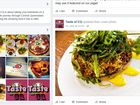 A NEW resident is using social media to spread positive feedback on the region's takeaway eateries and restaurants