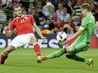 Wales has thrashed Russia 3-0 to progress to the last 16 of Euro 2016, with England joining it in the next round after a goalless draw with Slovakia.