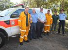FEDERAL MP for Dawson George Christensen has shown his support for the Cannonvalley Rural Fire Brigade to fund a multiple use shed.