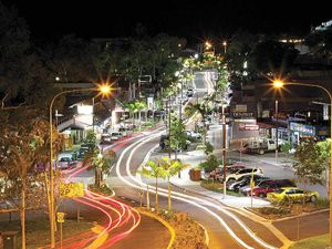 CHANGE: The main street of Airlie Beach will be the main area affected by new State Government lockout laws. Photo: Brodie Hope Photography