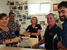IT was a case of interview nerves for workers at Yellow Door Books and Gifts recently when ABC Radio Capricornia visited.