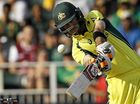 Australia has made it through to the final of the ODI tri-series in Barbados thanks to some magic from Glenn Maxwell.