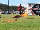 Stuntman Epic Darren impressed audiences with his impressive performances at Show Whitsunday this afternoon.