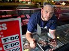 Grant Spresser is on the verge of having to close his butchery Meat at Chancellor. Photo: John McCutcheon / Sunshine Coast Daily