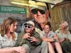 Bob Irwin honoured by zoo's surprise