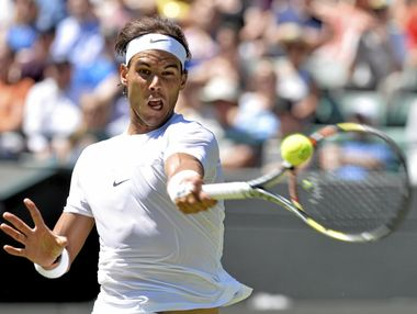 Rafael Nadal will be one of the headline acts in Brisbane next January.