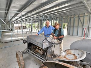 Museum shed rises from ashes
