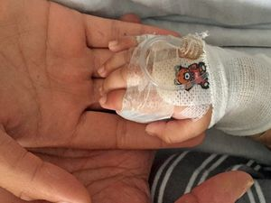 Baby boy catches meningococcal while in 10-person house