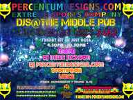 Percentum Designs Fashion Label presents an electronic music monthly event with some of the best local DJs