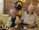 Ada and Keith Gilliland celebrate their 70th wedding anniversary.