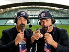 FRESH after the Maroons triumph last week, New South Welshman and comedy duo 'Fletch and Hindy' picked a bad weekend to grace Emerald.