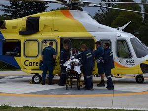 UPDATE: 12-year-old Gympie fire victim airlifted
