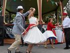 MOLTO benne! It was twirling room only at yesterday's inaugural Friendship Festival, The Piazza In The Park.