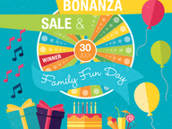 Join in the festivities and win over $10,000 worth of prizes at the Ballina Homemaker Centre Birthday Bonanza Sale & Family Fun Day!