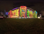 Screenshot from timelapse of Sydney's Vivid Festival