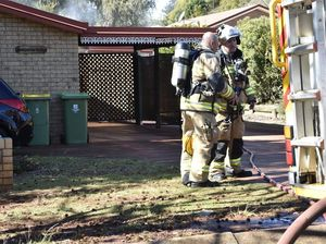 Wilsonton Heights unit fire victim airlifted to Brisbane