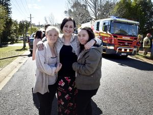Neighbours save animals in unit fire