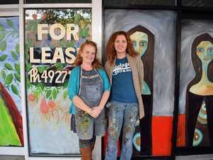 Rockhampton artists use CBD as their blank canvas