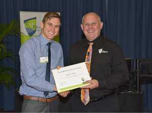 CQUni graduate Matthew's bright future in electricity