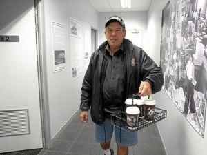 Rain, hail or shine - Toowoomba will get its coffee