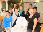 THE Rockhampton Mater Hospital Women's Unit are the beneficiary of the very special gift of a Cuddle Cot.